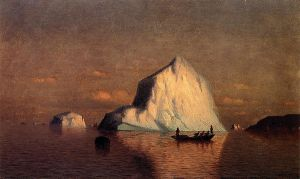 Straits of Belle Isle - William Bradford Oil Painting