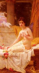 Psyche - Guillaume Seignac Oil Painting