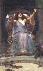 Circe Offering the Cup to Odysseus - Oil Painting Reproduction On Canvas