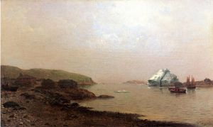 The Labrador Coast - William Bradford Oil Painting
