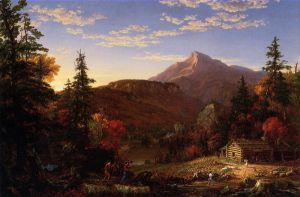 The Hunter's Return - Thomas Cole Oil Painting