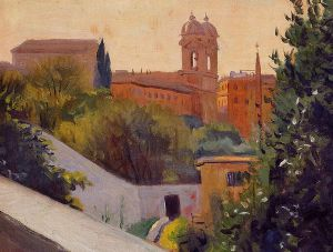 Trinity of the Mount - Felix Vallotton Oil Painting