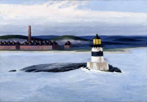 Five A.M. - Edward Hopper Oil Painting