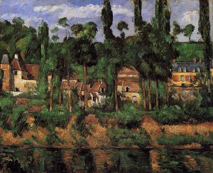 The Chateau de Madan - Paul Cezanne Oil Painting