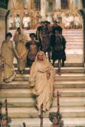 The Triumph of Titus - Sir Lawrence Alma-Tadema Oil Painting