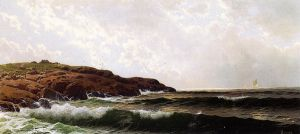 Morning at Sakonnet, Rhode Island - Alfred Thompson Bricher Oil Painting