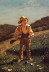 The Anxious Moment - John George Brown Oil Painting