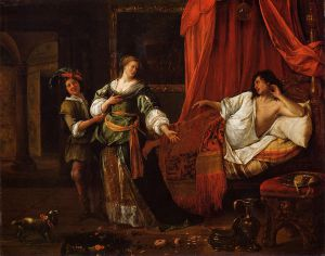 Amnon and Tamar - Jan Steen oil painting