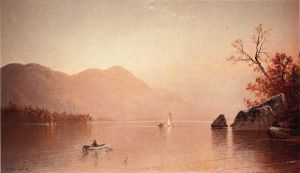 Autumn Mist, Lake George, New York - Alfred Thompson Bricher Oil Painting