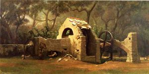 The Old Well, Bordighera - Elihu Vedder Oil Painting
