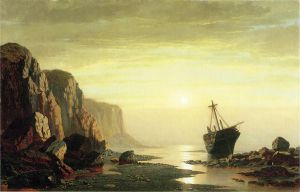 The Coast of Labrador II - William Bradford Oil Painting