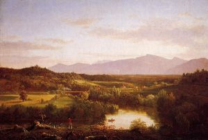 River in the Catskills - Thomas Cole Oil Painting