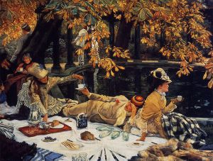 Holiday - James Tissot Oil Painting