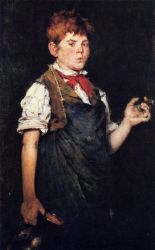 The Apprentice - William Merritt Chase Oil Painting Mary Cassatt Oil Painting
