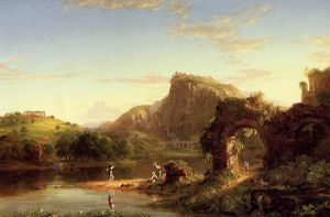 L'Allegro - Thomas Cole Oil Painting