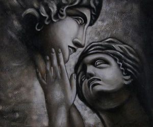 Embrace V - Oil Painting Reproduction On Canvas