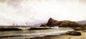 Breaking Surf II - Alfred Thompson Bricher Oil Painting