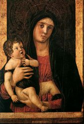 Madonna with Child III - Giovanni Bellini Oil Painting