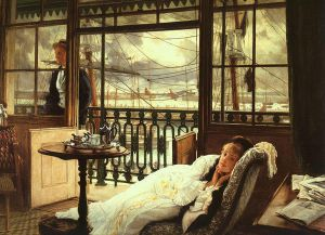 A Passing Storm - James Tissot Oil Painting
