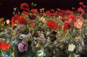 Poppies - John Singer Sargent Oil Painting