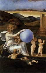 Four Allegories: Fortune (or Melancholy) - Giovanni Bellini Oil Painting