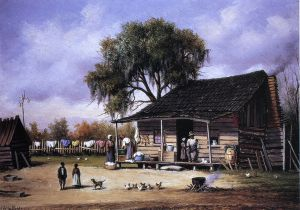 South Georgia Shanty - William Aiken Walker Oil Painting