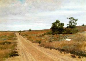 Hunting Game in Shinnecock Hills - William Merritt Chase Oil Painting
