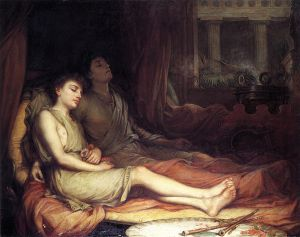 Sleep and His Half-Brother Death - Oil Painting Reproduction On Canvas