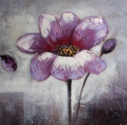 Decorative flower painting